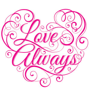 Mona Daly - TYPOGRAPHY - LoveAlways