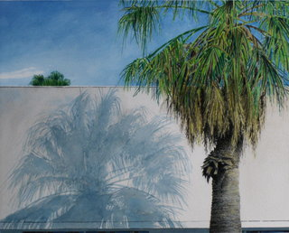 Doug Shoemaker Watercolors - Urban Landscapes / New Work 2012-2014 - Twin Palms