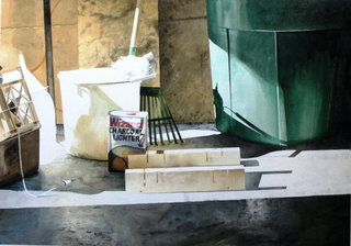 Doug Shoemaker Watercolors - Still lifes - Stillife with wizard