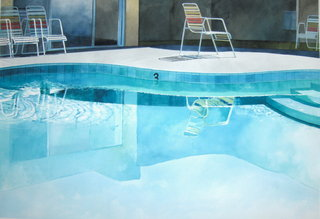 Doug Shoemaker Watercolors - Pools and lounges - oasis3