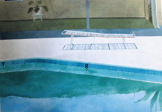 Doug Shoemaker Watercolors - Pools and lounges - oasis4