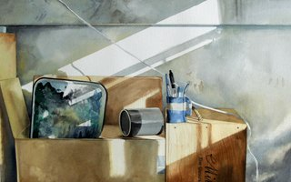 Doug Shoemaker Watercolors - Still lifes - stillifewpalette