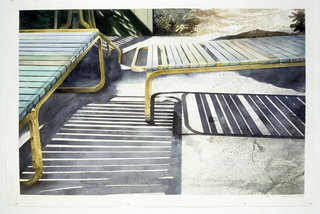 Doug Shoemaker Watercolors - Pools and lounges - Poolside
