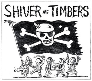 NEUBECKER BOOKS - Shiver Me Timbers by Doug Florian - ShiverCoverSketchFB1