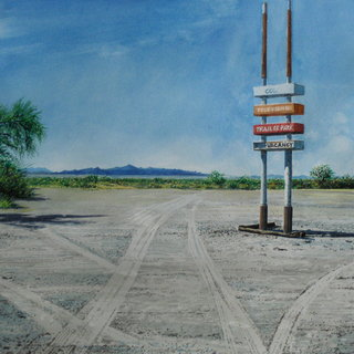 Doug Shoemaker Watercolors - Urban Landscapes / New Work 2012-2014 - Vacancy
