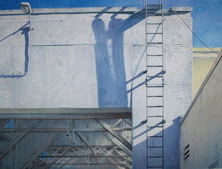 Doug Shoemaker Watercolors - Urban Landscapes / New Work 2012-2014 - Warehouse-I