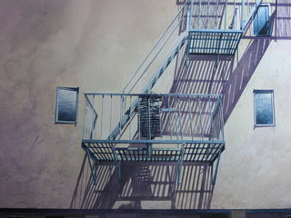 Doug Shoemaker Watercolors - Urban Landscapes / New Work 2012-2014 - Double-Escape