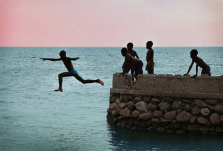 Aliya Naumoff  - Haiti - After the Earthquake - Haiti_Boys_Jump_crop_9663