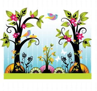 Mona Daly - Childrens Illustration - Flowerforest