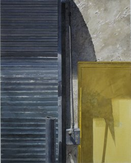 Doug Shoemaker Watercolors - Urban Landscapes / New Work 2012-2014 - Medium-yellow