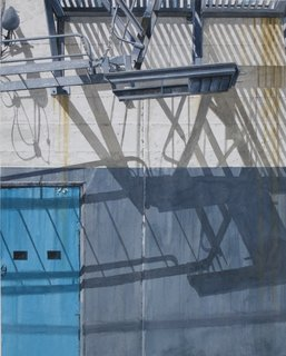 Doug Shoemaker Watercolors - Urban Landscapes / New Work 2012-2014 - Balance