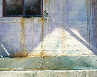 Doug Shoemaker Watercolors - Urban Landscapes / New Work 2012-2014 - Sunlight-and-Decay