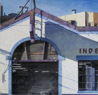 Doug Shoemaker Watercolors - Urban Landscapes / New Work 2012-2014 - Independent