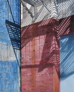 Doug Shoemaker Watercolors - Urban Landscapes / New Work 2012-2014 - All-American