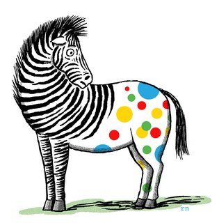 Robert Neubecker - Editorial - Zebra