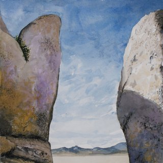 Doug Shoemaker Watercolors - Joshua Tree National Park Artist-in-Residence, Spring 2015 - JT4