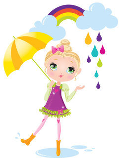 Mona Daly - Childrens Illustration - MonaDaly_Rainbow_drops