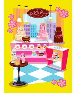 Mona Daly - Childrens Illustration - Bakeshop_LG