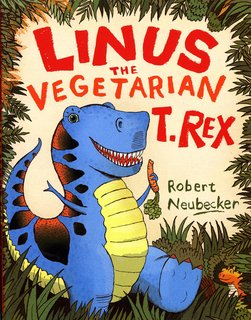 NEUBECKER BOOKS - Linus the Vegetarian T-Rex! - LinusCover