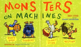 NEUBECKER BOOKS - Monsters on Machines by Deb Lund - MonstersOnMachines-1