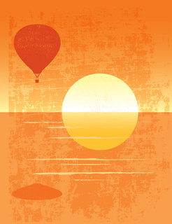 Mona Daly - Commercial Work - Sunset_balloon