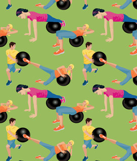 Mona Daly - Commercial Work - Exercise_pattern