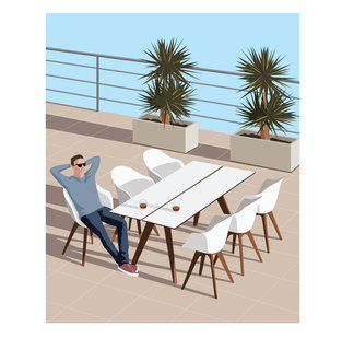 Mona Daly - Commercial Work - Outdoorseating