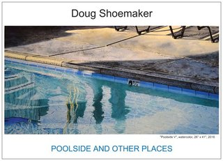 Doug Shoemaker Watercolors - Exhibition Announcements - preview2