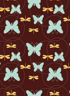 Mona Daly - Surface Design - Dragonflies_073108