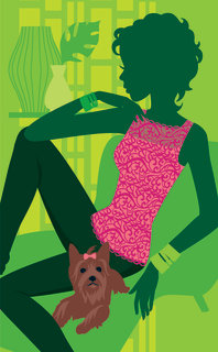 Mona Daly - Commercial Work - Woman_dog