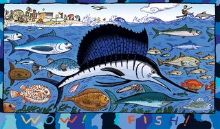 NEUBECKER BOOKS - Wow! Ocean! - 6WowFish3x3