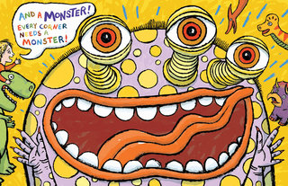 NEUBECKER BOOKS - Time Out for Monsters by Jean Reidy - CornerWB12-13