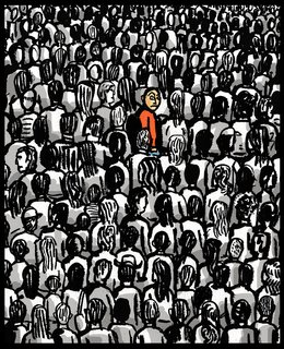 Robert Neubecker - Editorial - Crowd