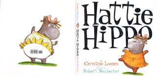 NEUBECKER BOOKS - Hattie Hippo by Christine Loomis - Hattie Cover weblrg