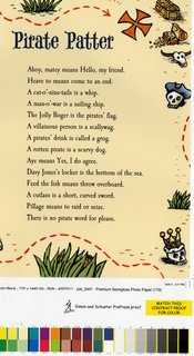 NEUBECKER BOOKS - Shiver Me Timbers by Doug Florian - Poetry!