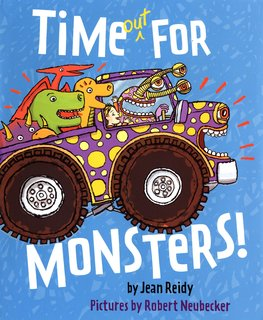 NEUBECKER BOOKS - Time Out for Monsters by Jean Reidy - TimeOutCover