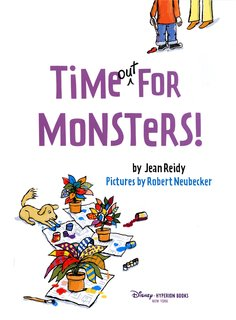 NEUBECKER BOOKS - Time Out for Monsters by Jean Reidy - TimeTitle