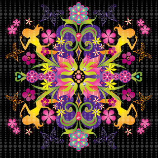 Mona Daly - Surface Design - Flowers