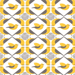 Mona Daly - Surface Design - YellowBirds