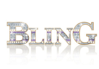 Mona Daly - TYPOGRAPHY - Bling